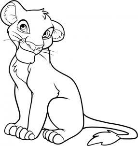 Как нарисовать Короля Льва 9