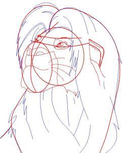 Как нарисовать Симбу 105