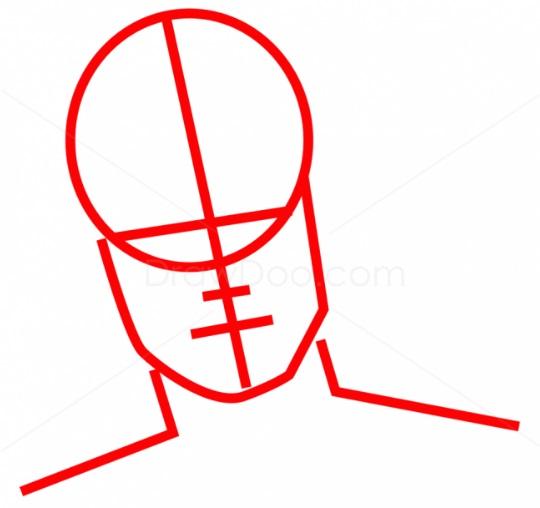 Как нарисовать Теона Грейджоя 2
