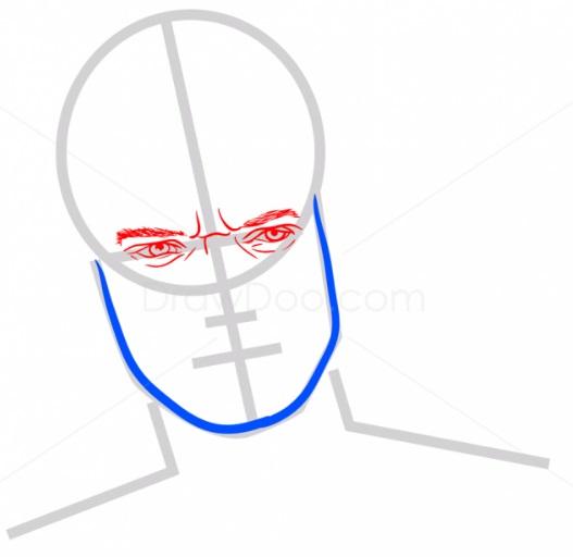 Как нарисовать Теона Грейджоя 4