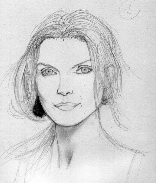 Как нарисовать портрет 8