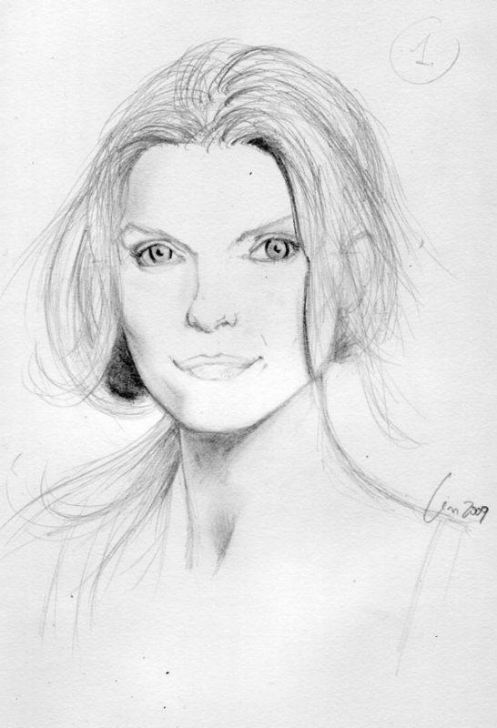 Как нарисовать портрет 9