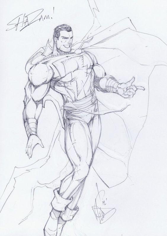 Срисовки Шазама 12