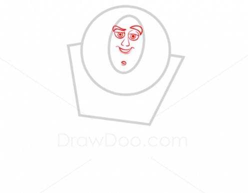Как нарисовать Базза Лайтера 2