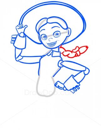 как нарисовать Джесси 8