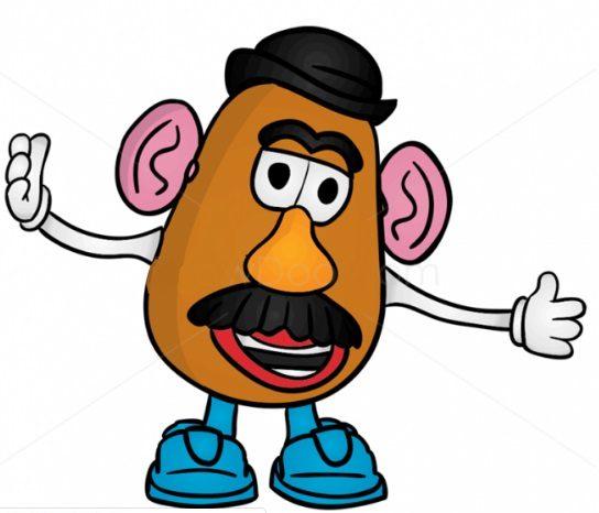 Как нарисовать Картофельную голову 10