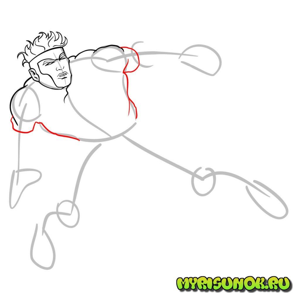 Как нарисовать Хавока 7