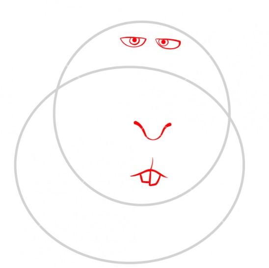 Рисуем свинку Нормана 5