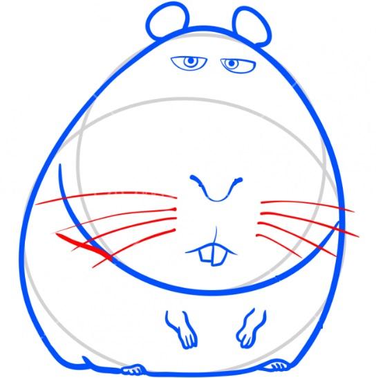 Рисуем свинку Нормана 6