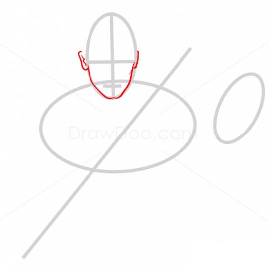 Как нарисовать Энакина Скайуокера 2