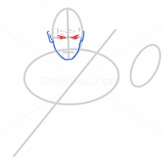 Как нарисовать Энакина Скайуокера 3