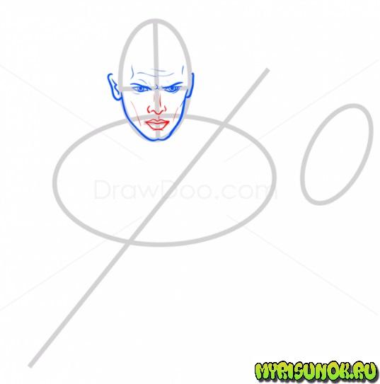 Как нарисовать Энакина Скайуокера 4