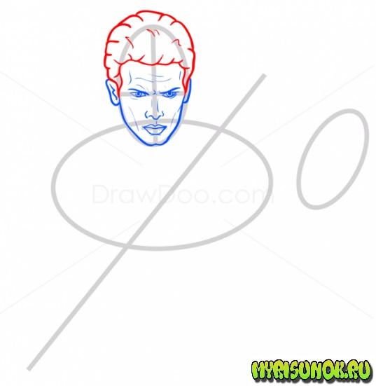 Как нарисовать Энакина Скайуокера 5