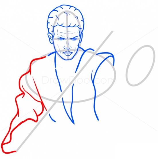 Как нарисовать Энакина Скайуокера 7