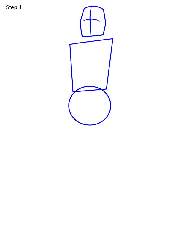 рисуем рыцаря 1