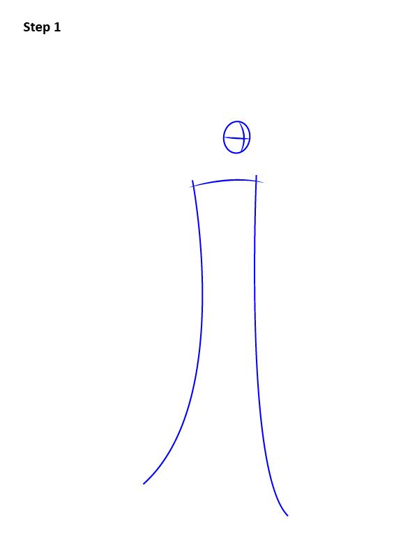 Как нарисовать Малефисенту 1