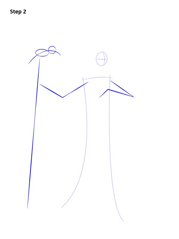 Как нарисовать Малефисенту 2