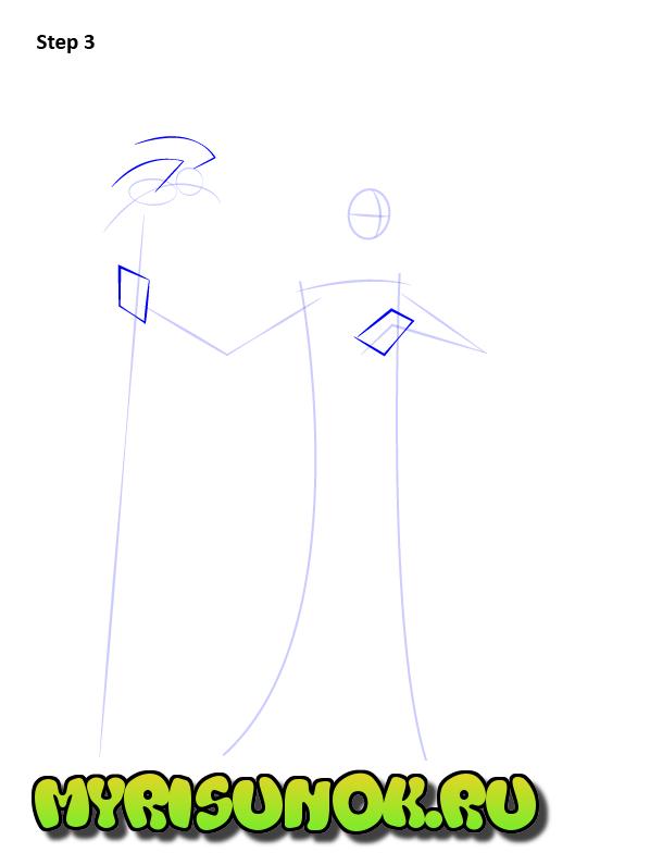 Как нарисовать Малефисенту 3