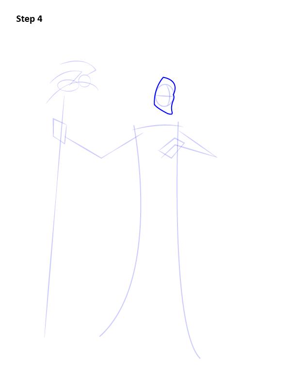 Как нарисовать Малефисенту 4