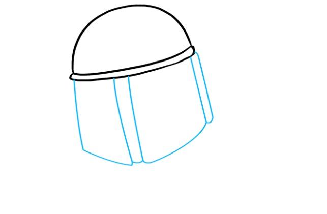 Как нарисовать Бобу Фетта 2