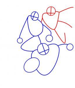 Как нарисовать Юную Лигу справедливости 3