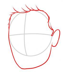 Как нарисовать Зака Эфрона 2