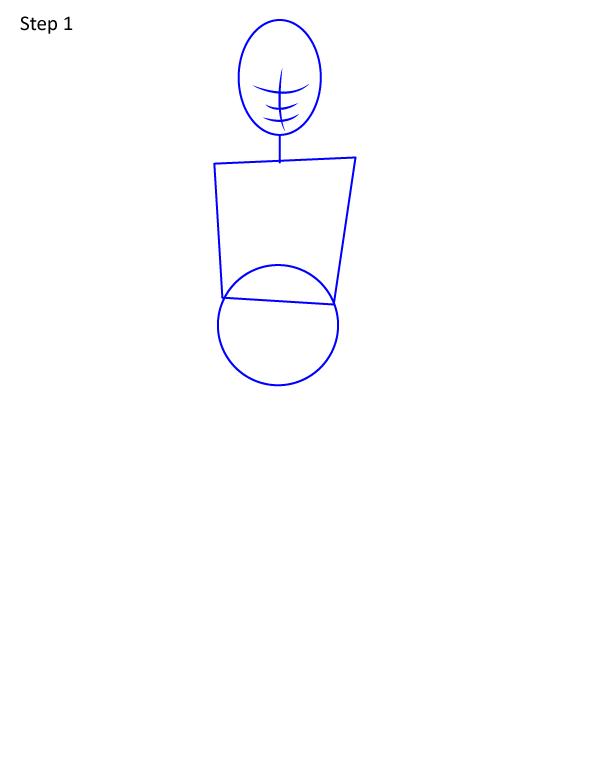рисуем анну 1