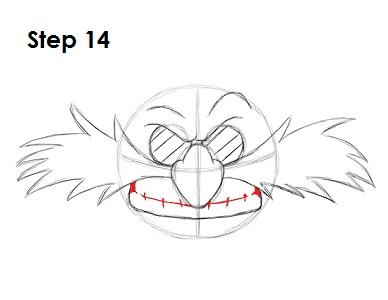 как нарисовать доктора эггмана 14