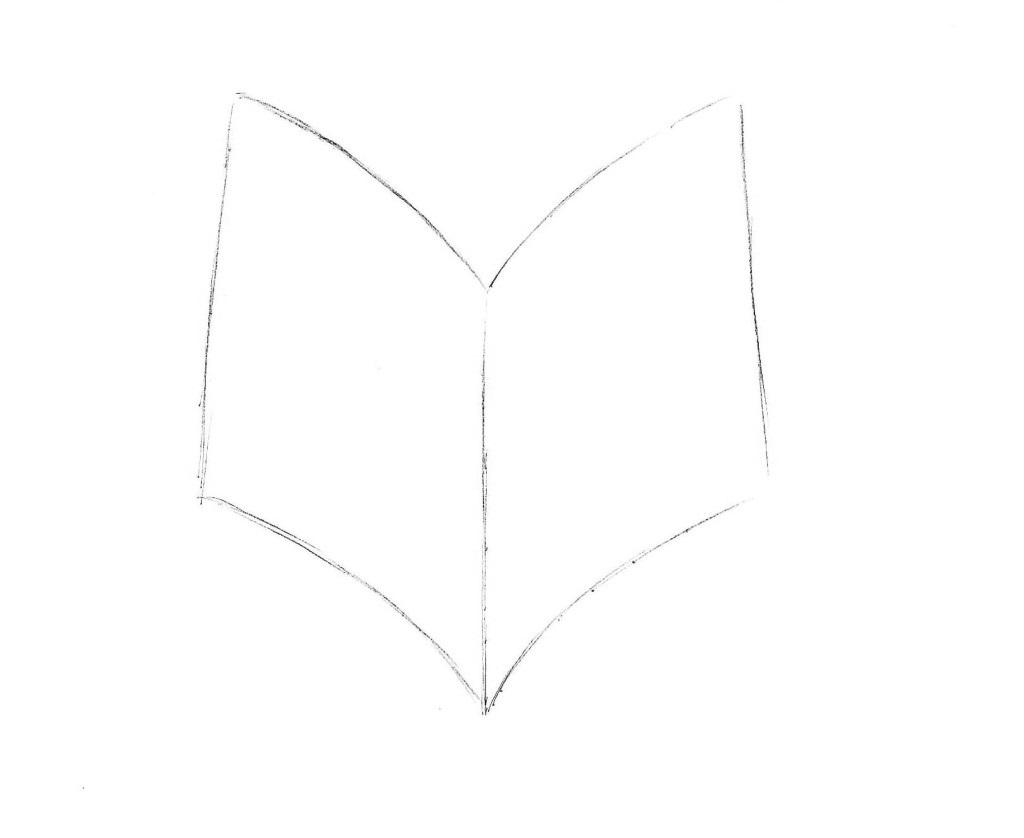 рисуем книгу 2