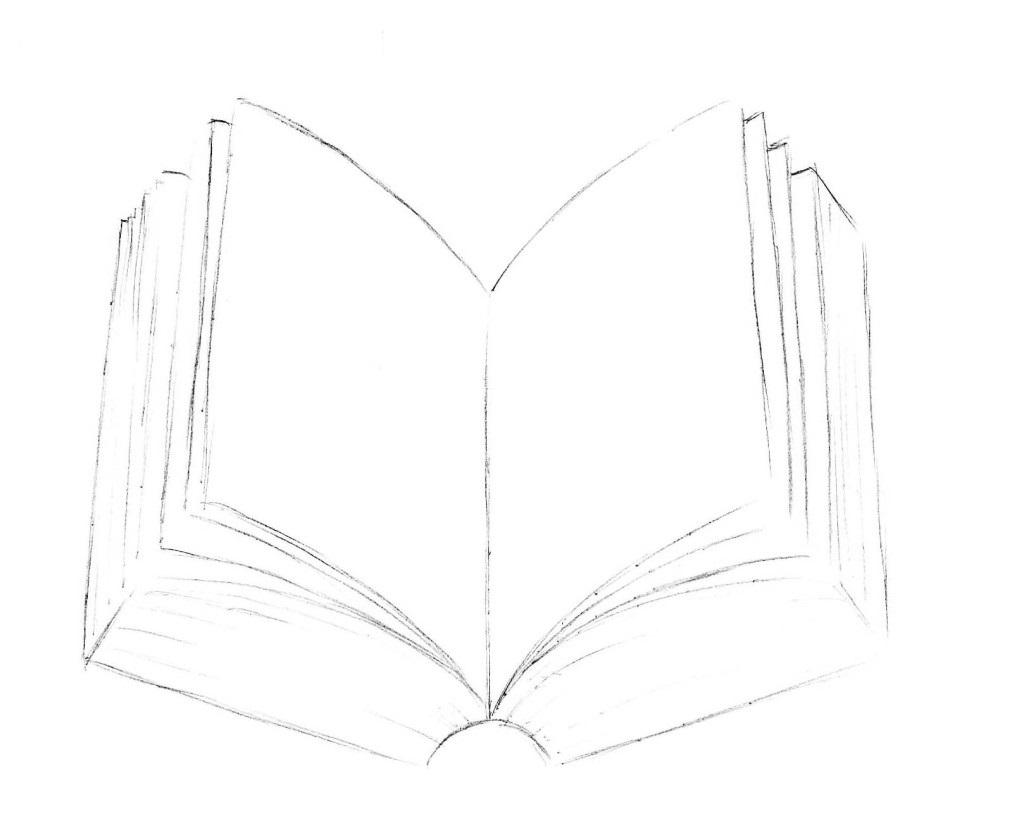 рисуем книгу 4