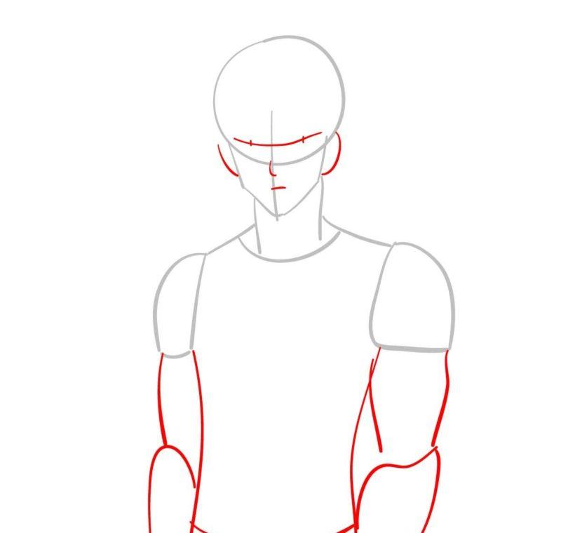 как нарисовать Геноса 2