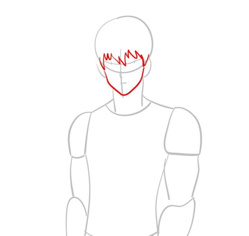 как нарисовать Геноса 3