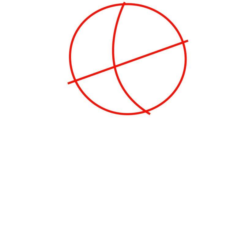 Как нарисовать Лизу Симпсон 1