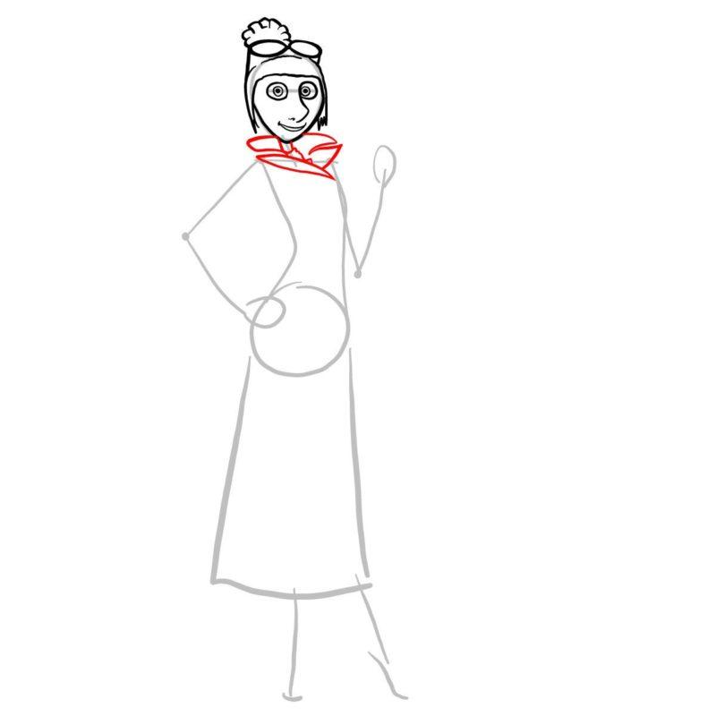 как нарисовать люси из гадкий я 5