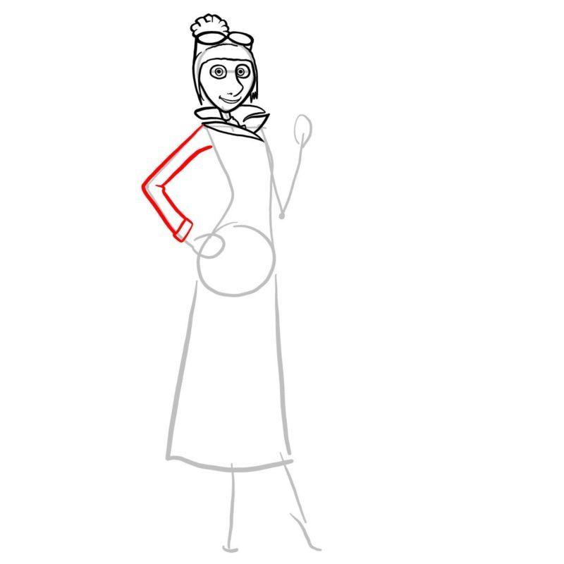 как нарисовать люси из гадкий я 6