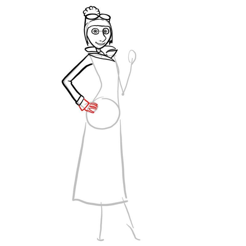 как нарисовать люси из гадкий я 7