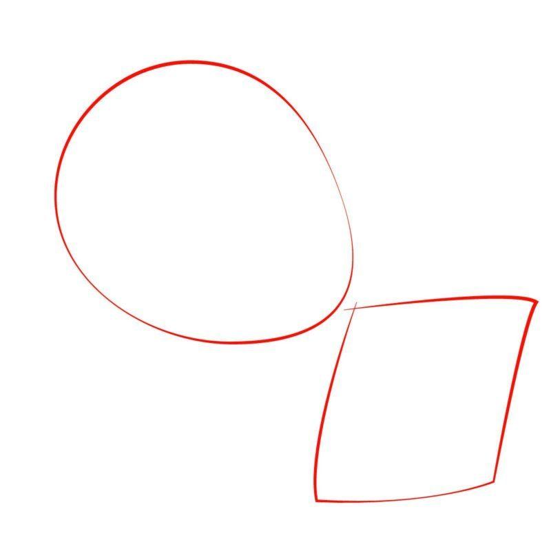 как нарисовать мэгги симпсон 1