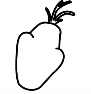 как нарисовать Олафа 1