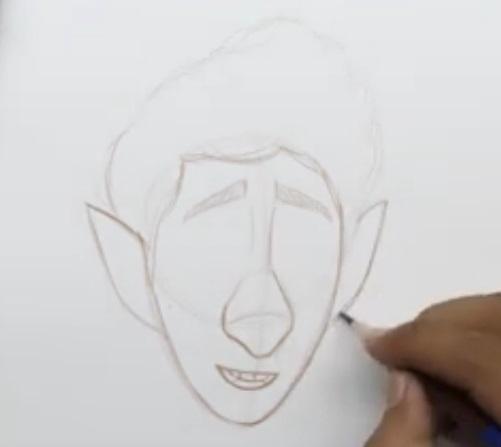 Иэн Лайтфут простой урок рисования