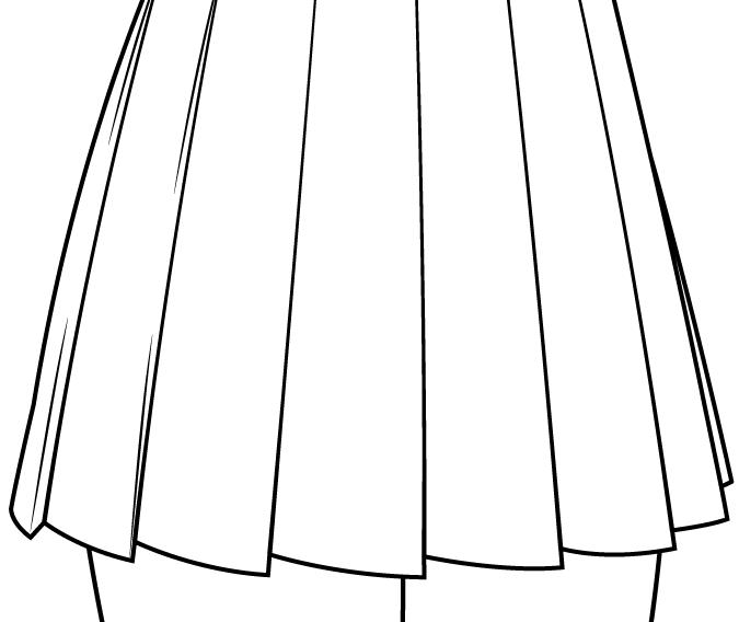 юбка школьницы аниме