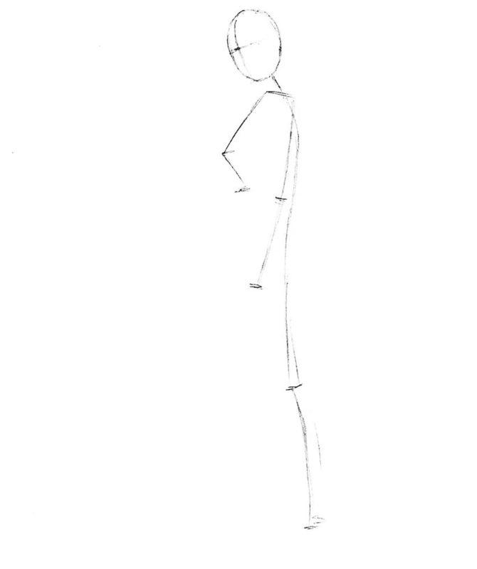 рисуем леголаса 1