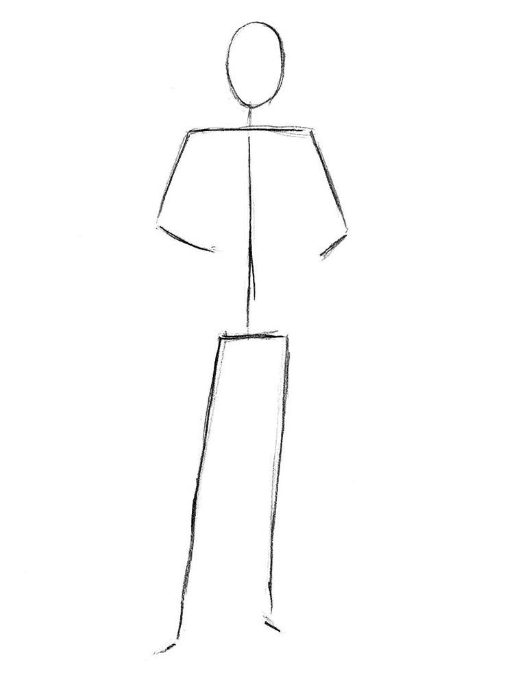 как нарисовать доктора 1