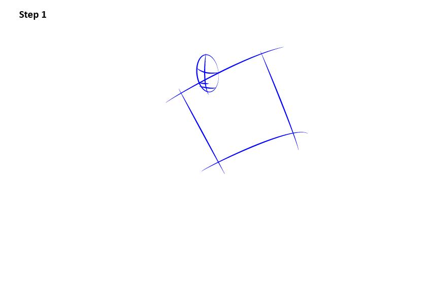 как нарисовать хоккеиста 1