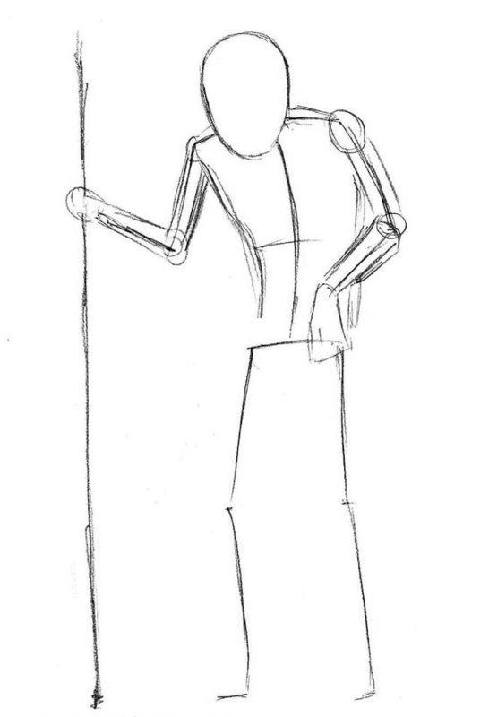 как нарисовать кощея бессмертного 2
