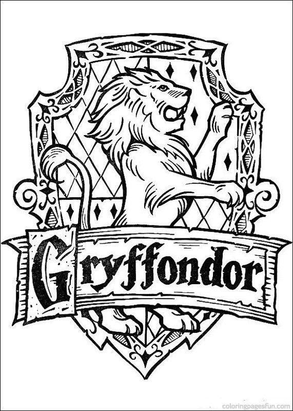Раскраска Гарри Поттер 9