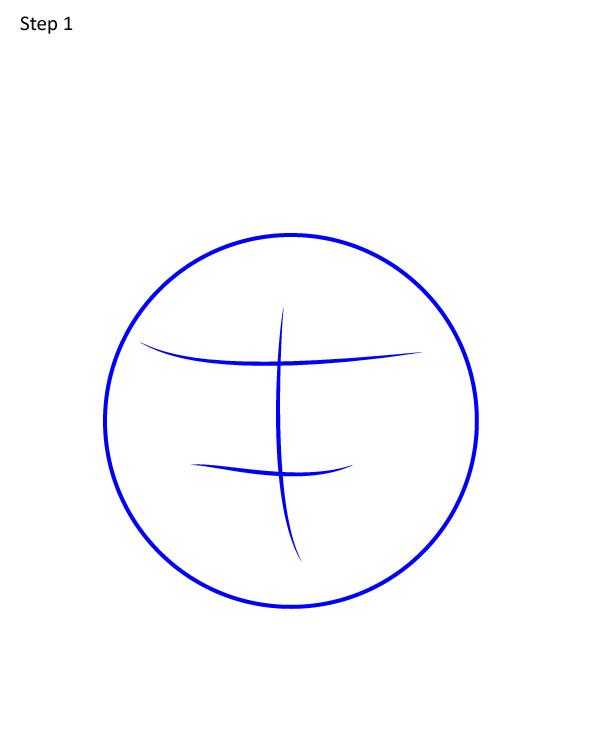 как нарисовать Полли из Амфибии 1