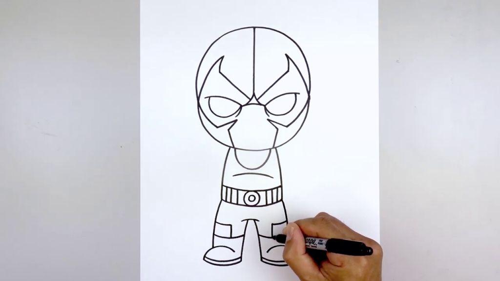 как нарисовать Бейна 11