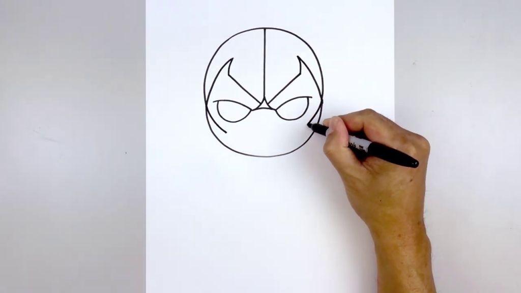 как нарисовать Бейна 5