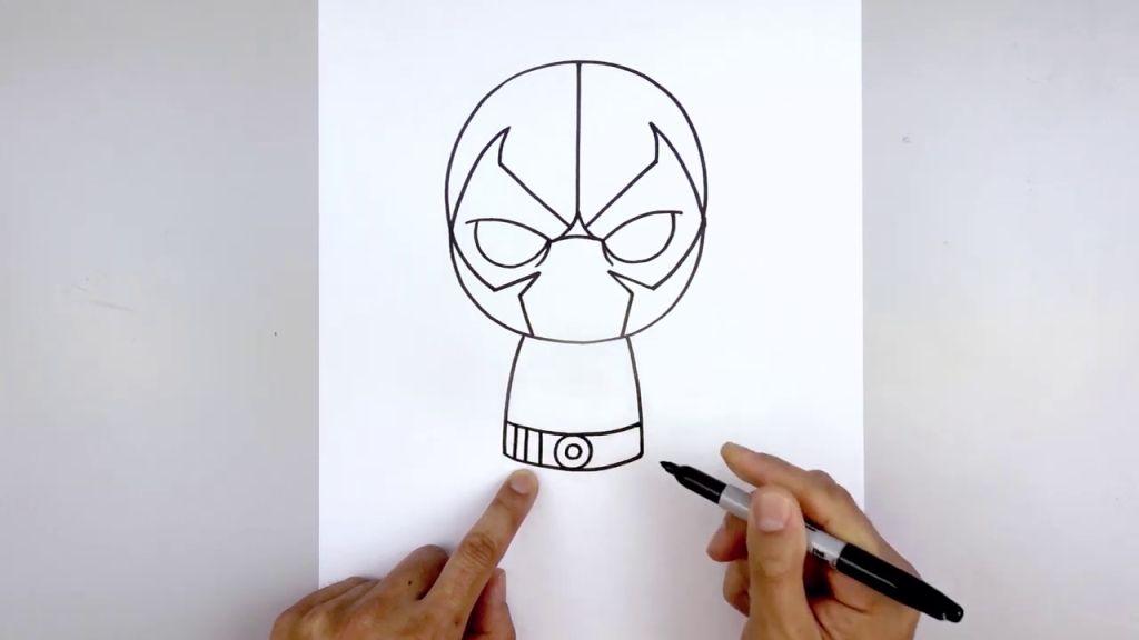 как нарисовать Бейна 7