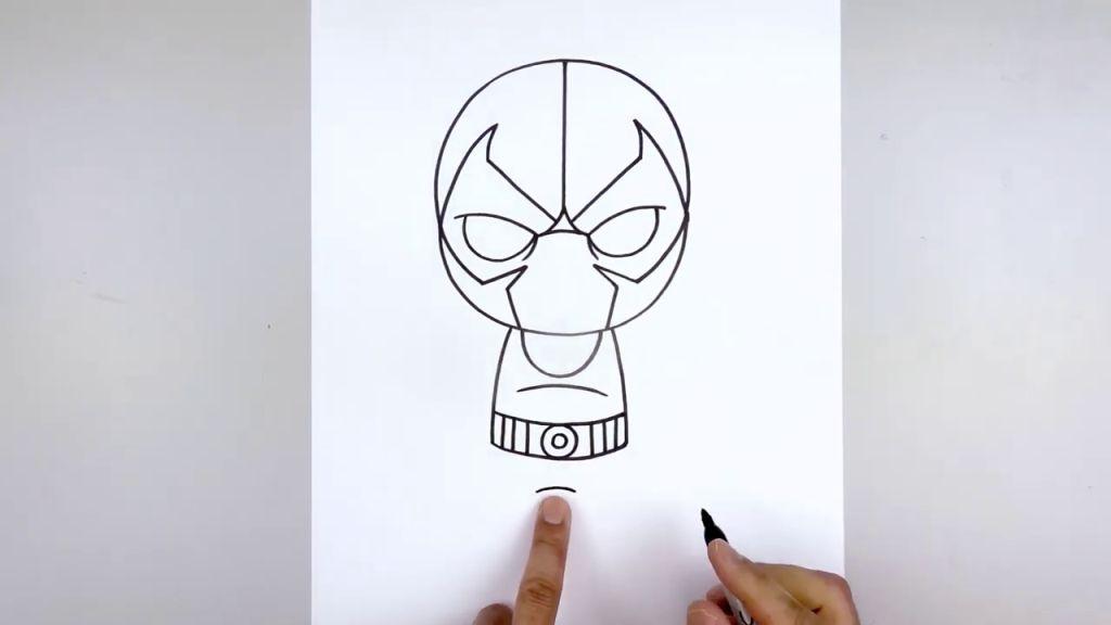 как нарисовать Бейна 8